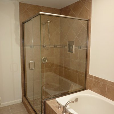 Custom shower remodel 11