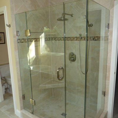 Custom shower remodel 17