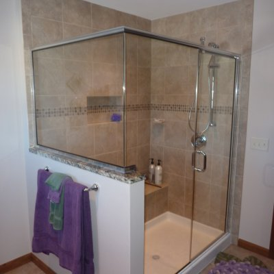 Custom shower remodel 2