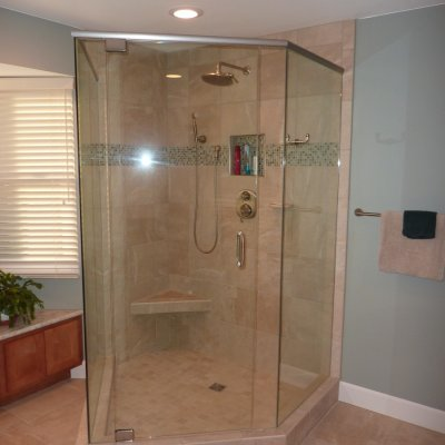 Custom shower remodel 20