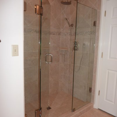 Custom shower remodel 34