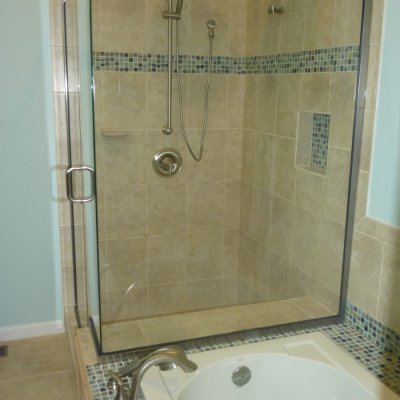 Custom shower remodel 4