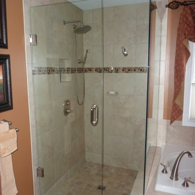 Custom shower remodel 6